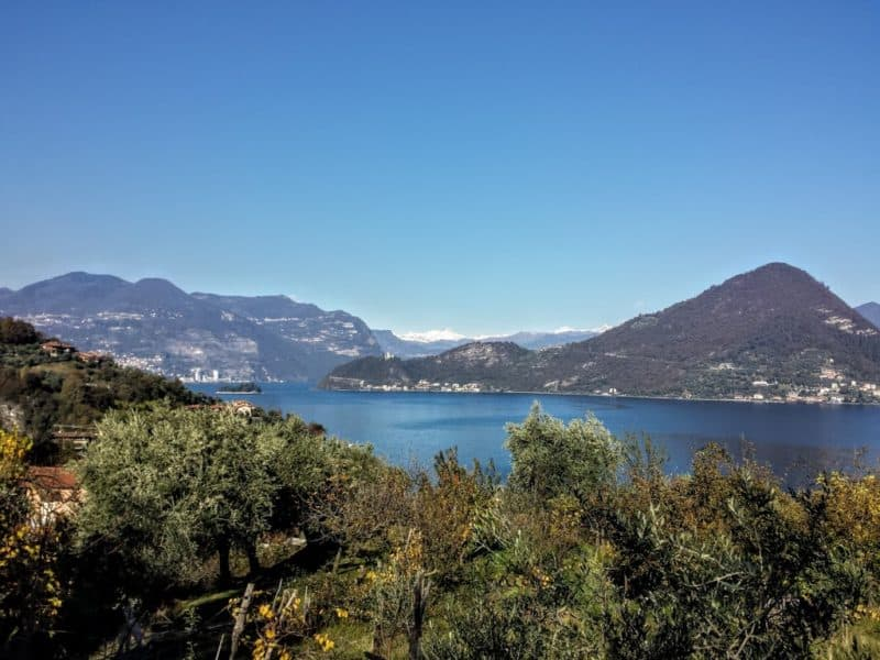 Monte Isola views