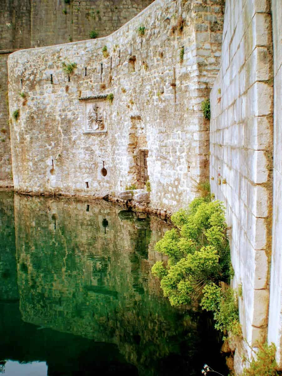 kotor montenegro city walls
