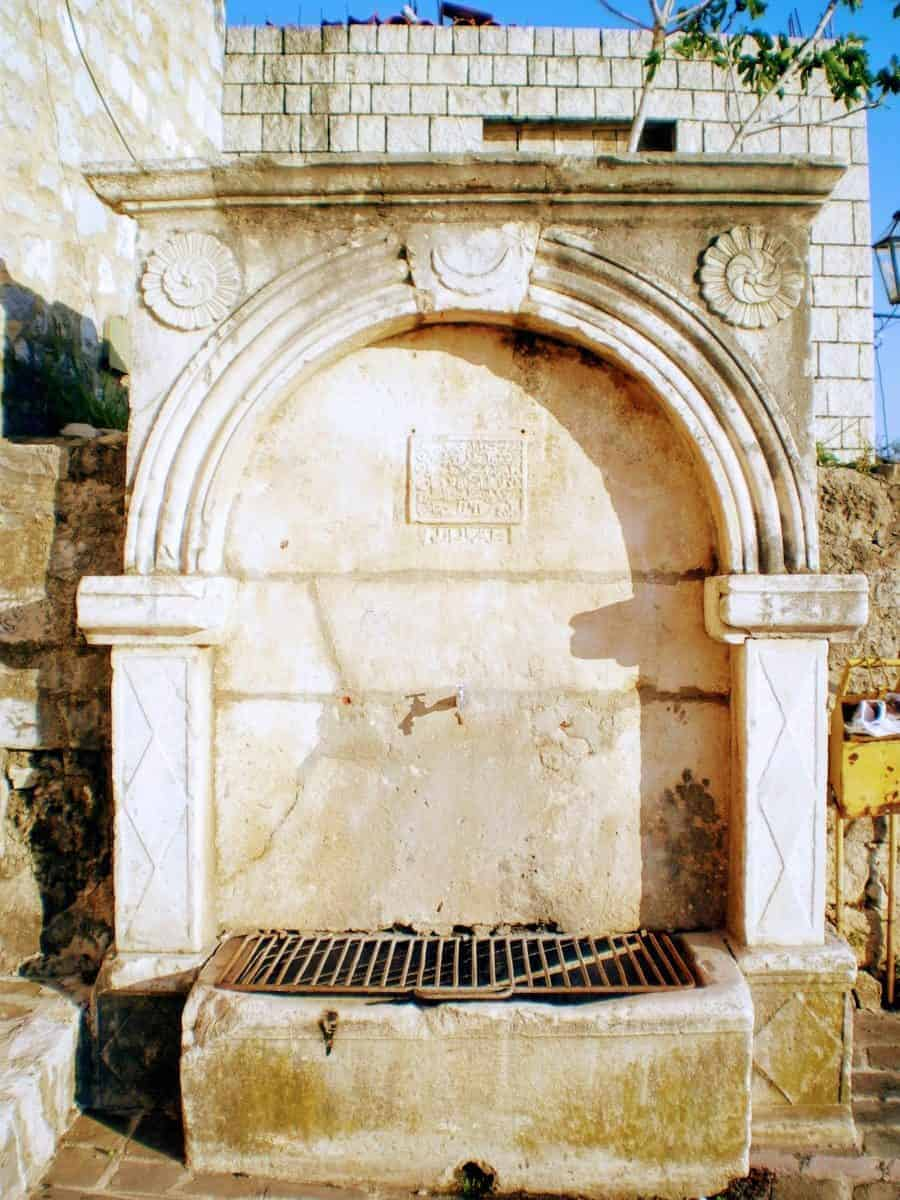 ulcinj montenegro water fountain