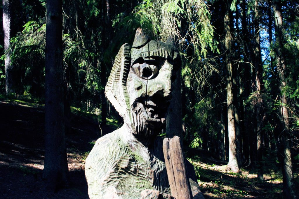 Hill of Witches Juodkrante Lithuania
