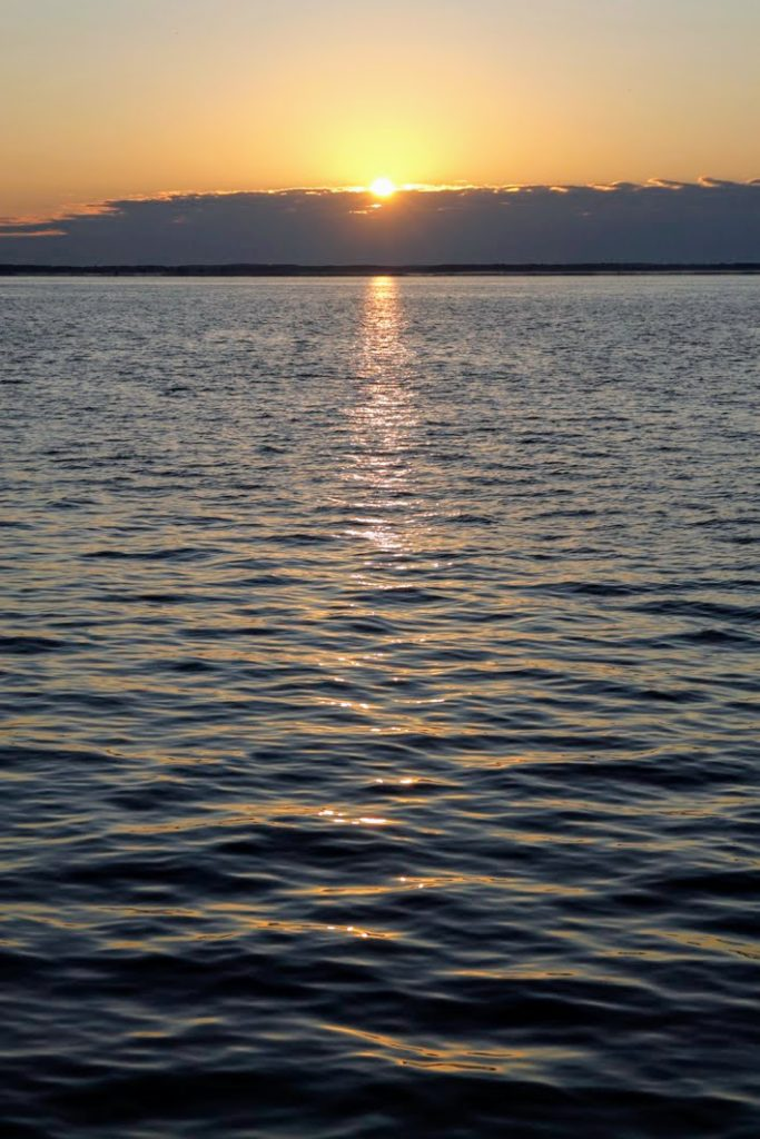 Sunrise at the Curonian Lagoon