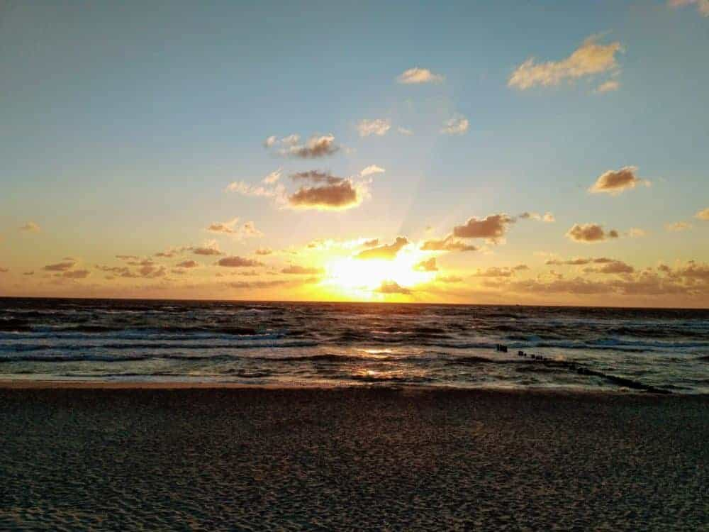 Sunset in Preila