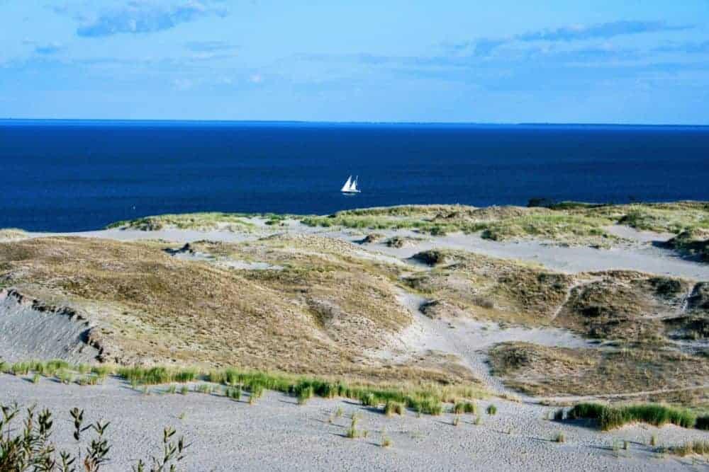 The Curonian Lagoon