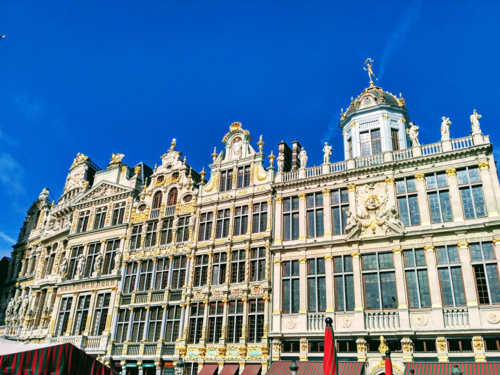 Guild Houses, Brussels