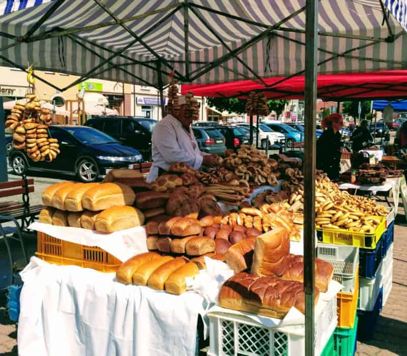 Bread in all its forms in Lomza