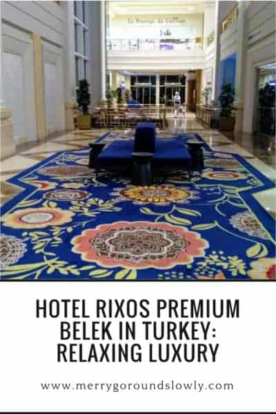 Rixos Premium Belek Hotel Turkey Pin