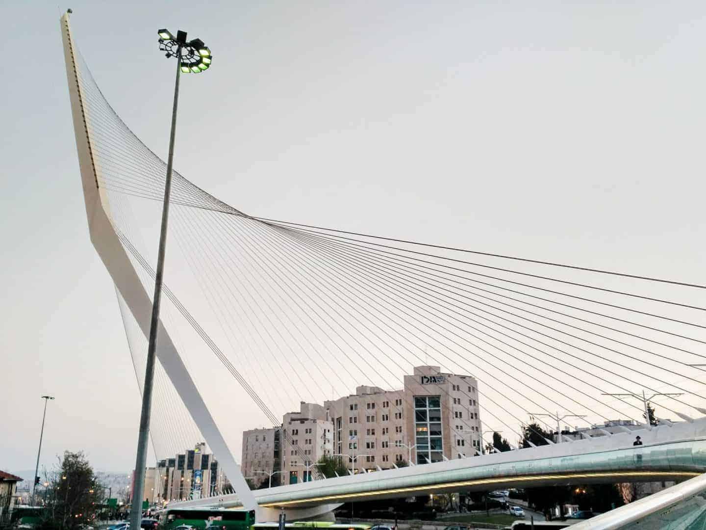 Chords Bridge, Jerusalem