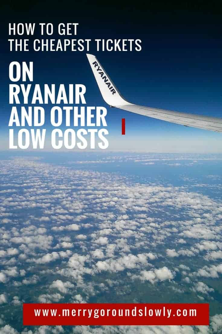 ryanair low cost airlines pin