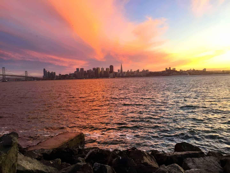 SF Treasure Island Sunset (1)