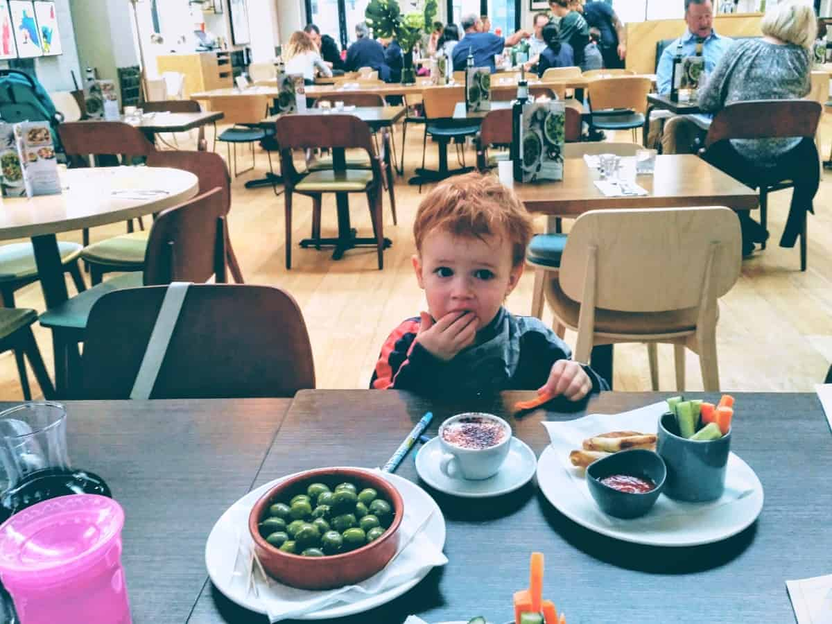 child friendly restaurants london ask italian