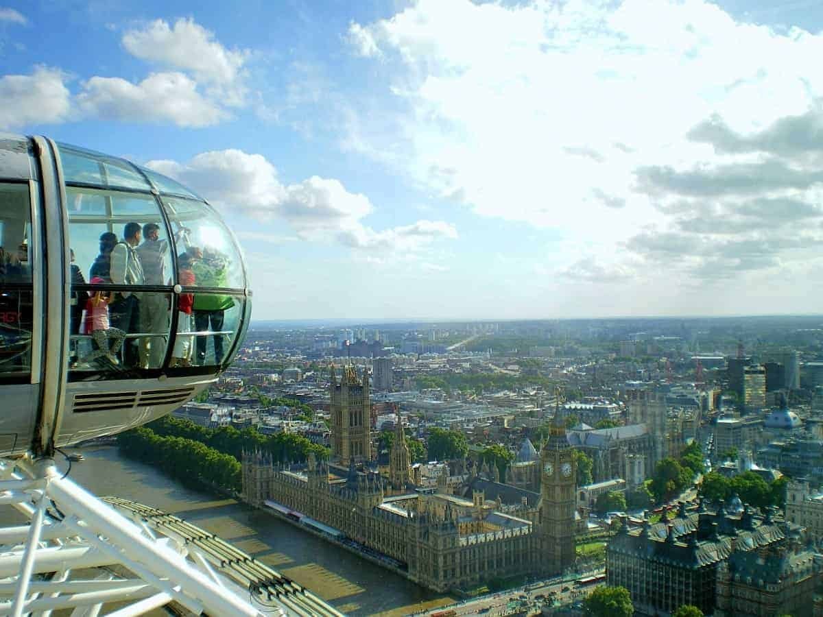 sightseeing london eye