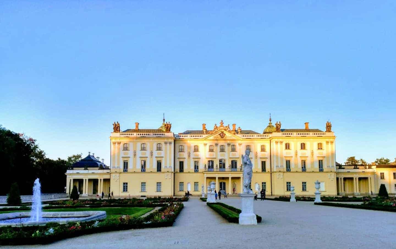 Bialystok, Poland, Branicki palace