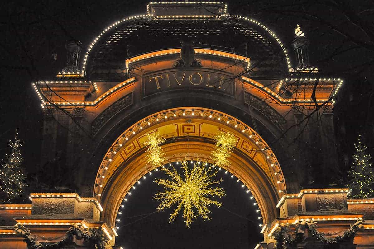 Tivoli Gardens Amusement Park New Years Eve